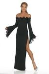 Abendkleid Purity schwarz