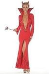 Sexy Teufel Kost�m Kleid