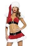 Sexy Weihnachtskost�m Sankt Niklas