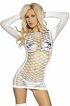 Sexy Netzkleid American Girl
