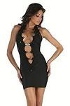 Minikleid Black Cat