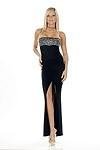 Sexy Abendkleid Kate - schwarz