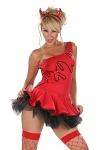 Sexy Teufels Kleid - Miss Devil