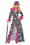 Sexy Zebra Kost�m