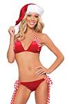 Weihnachts Bikini - X-mas Jingle Bells Bikini