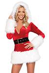 Weihnachtskleid Deluxe - Miss Santa