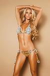 Sexy Pl�sch Bikini Cheetah