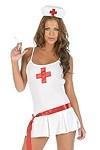 Sexy Nurse - Krankenschwester Kost�m Gr.L