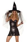 Halloween Minikleid - Hexe Lara