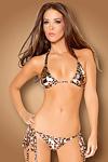 Sexy Bikini metallic Leopard