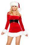 Weihnachtskost�m - Sexy Santa