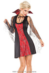 Halloween Kleid Miss Coquette Gr.M/L