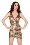 Minikleid Leopard Girl