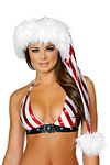 Weihnachtsm�tze - Candy Cane