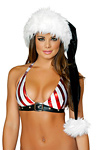 Weihnachtsm�tze - Deluxe Santa black