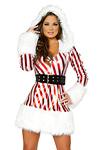 Weihnachtskost�m Kleid Candy Cane