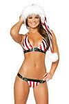 Weihnachtsbikini Candy Cane