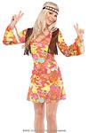 Hippie Girl Kost�m Gr.S/M