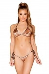 Pailletten Bikini Rose Gold