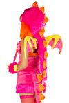 Pink Drachen Flügel