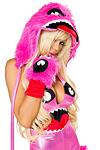 Pink Monster Armstulpen