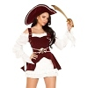 Piraten Kostüm Bourgundy