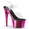 Plateau High Heels Adore-708 pink chrome