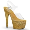 Plateau High Heels Adore-708HMG gold