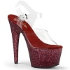 Plateau High Heels Adore-708HMG rot