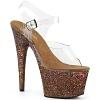 Plateau High Heels Adore-708LG bronze