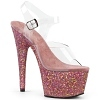 Plateau High Heels Adore-708LG champagner pink