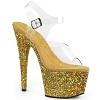 Plateau High Heels Adore-708LG gold