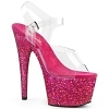 Plateau High Heels Adore-708LG pink