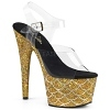 Plateau High Heels Adore-708MSLG gold
