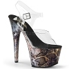 Plateau High Heels Adore-708SP Snake