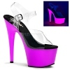 Plateau High Heels Adore-708UV lila
