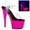 Plateau High Heels Adore-708UV pink