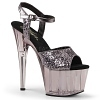 Plateau High Heels Adore-710GT smoke
