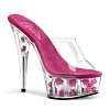 Plateau High Heels Delight-601FL pink