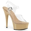 Plateau High Heels Delight-608 beige