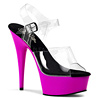 Plateau High Heels Delight-608UV lila