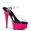 Plateau High Heels Delight-608UV pink