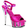 Plateau High Heels Delight-609-5G pink