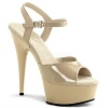 Plateau High Heels Delight-609 creme
