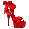 Plateau High Heels Delight-668 rot