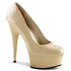 Plateau High Heels Delight-685 creme