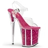 Plateau High Heels Flamingo-808CH pink