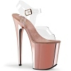 Plateau High Heels Flamingo-808CH rose gold