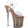 Plateau High Heels Flamingo-808G rose gold