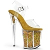 Plateau High Heels Flamingo-808GF gold